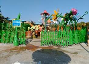 Water Slides- Children´s areas